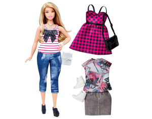 Barbie Fashionista mollig Blond | Dodax.ch