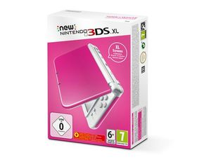 New Nintendo 3DS XL Pink White, 1 Konsole | Dodax.at