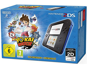 Nintendo 2DS Blue, 1 Konsole + Yo-Kai Watch, 1 Nintendo 2DS-Spiel | Dodax.at