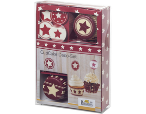 CupCake Deco-Set Sterne, 36-tlg. | Dodax.co.uk