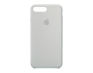 Apple - Silicone Case for iPhone 7 Plus, White (MMQW2ZM/A)   Dodax.fr