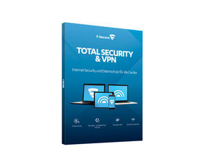 F-Secure Total Security & VPN 3U/1J | Dodax.ch