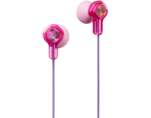 JVC HA-KD1 In-Ear Kinderkopfhörer, pink | Dodax.ch
