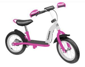 "Hudora Laufrad Cruiser, 12"", Alu, Girl 
