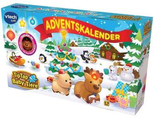Tip Tap Baby Tiere - Adventskalender | Dodax.at