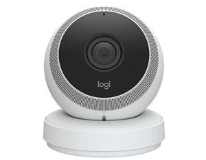 Logitech Circle IP security camera Indoor Dome White | Dodax.co.uk
