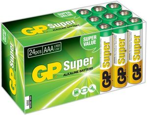Image of 15A Super Alkaline 24x AAA Multipack