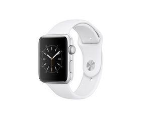 Apple Watch S2 42mm Aluminium Weiss | Dodax.es