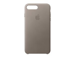 Apple iPhone 7 Plus Leder Case Taupe | Dodax.at