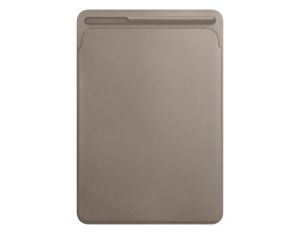 "Leather Sleeve iPad Pro 10.5"" Taupe 