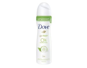 Dove Deo Spray GoFresh Gurke Zero 75 ml | Dodax.es