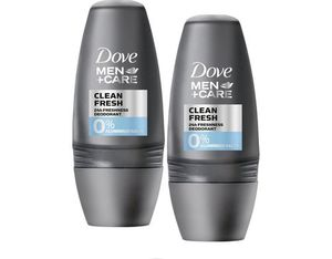 Dove Men Deo Roll-on Clean Fresh DUO 50 ml | Dodax.ch