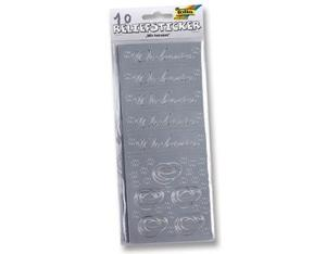 Folia Sticker Relief Wir heiraten | Dodax.de