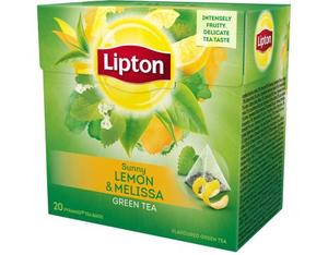 Lipton Teebeutel Green Lemon Melissa | Dodax.co.uk