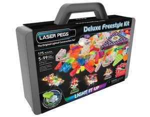 Laser Pegs Deluxe Freestyle Kit im Koffer | Dodax.ch