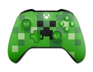 Wireless Controller Minecraft Creeper für XboxOne | Dodax.ch