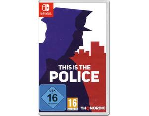 This is the Police, 1 Nintendo Switch-Spiel | Dodax.fr