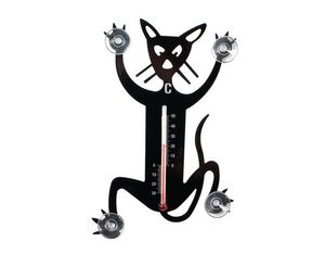 Pluto Thermometer Katze | Dodax.co.uk