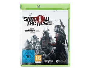 Shadow Tactics, Blades of the Shogun, 1 Xbox One-Blu-ray Disc | Dodax.fr
