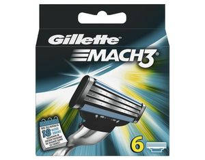 Gillette Klingen Mach3 6er | Dodax.co.uk