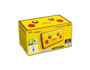 New Nintendo 2DS XL Pikachu Edition, 1 Konsole + Nintendo 3DS-Spiel | Dodax.it