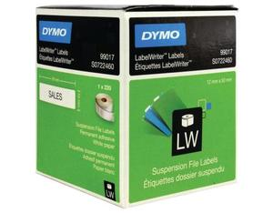 DYMO LabelWriter Labels Suspension File Black,White 220pc(s) self-adhesive label | Dodax.ca