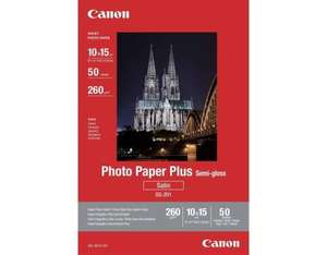 Canon Photo Paper Plus SG-201, 10x15, 50sheets photo paper | Dodax.ca