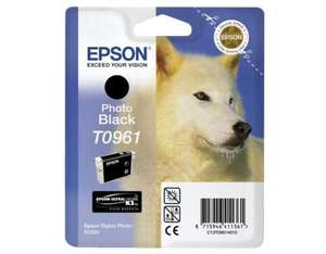 Epson Singlepack Photo Black T0961 | Dodax.co.uk